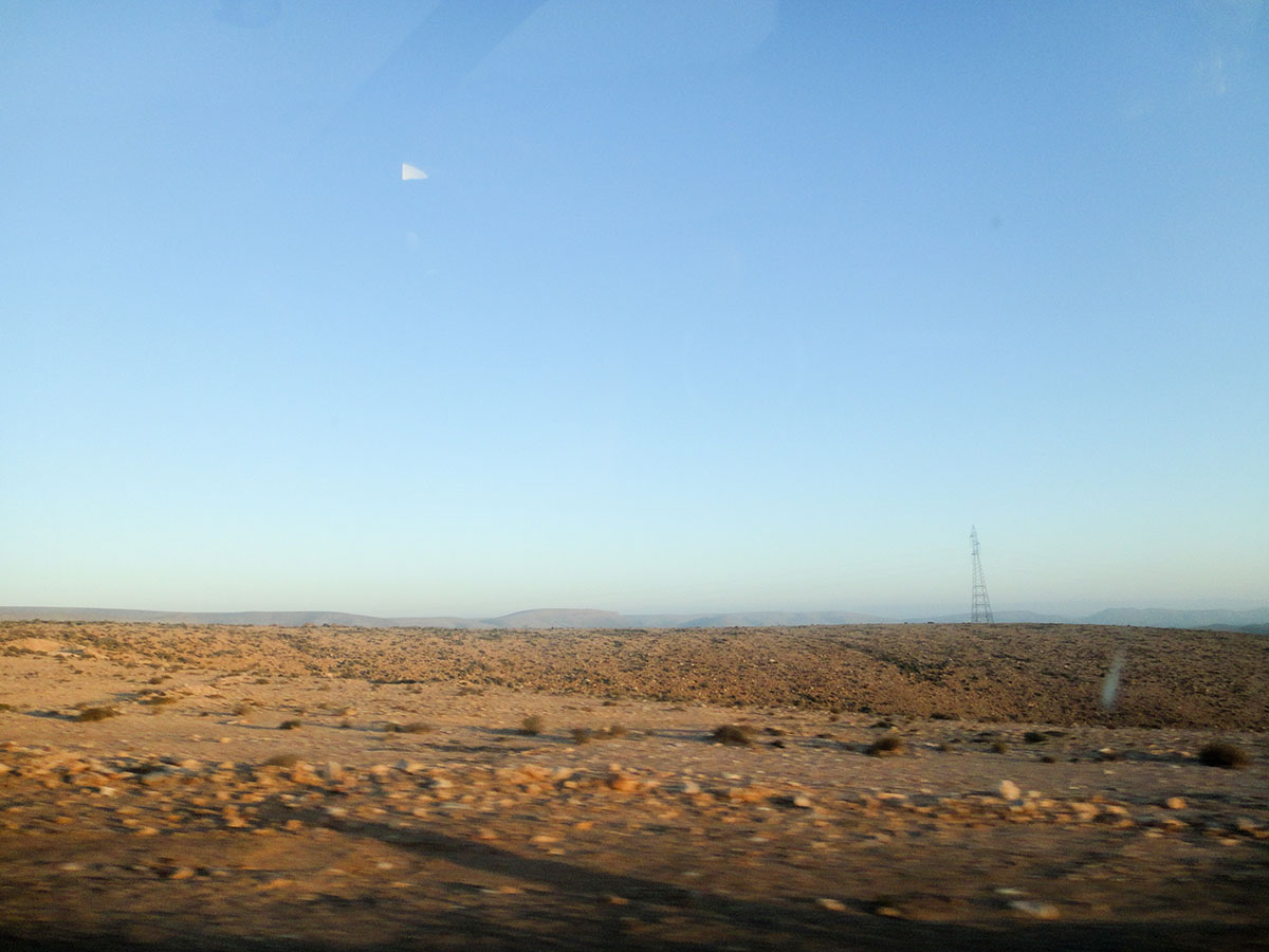 sahara-road